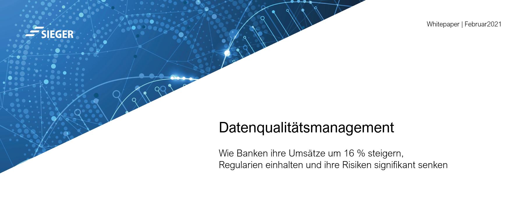 Datenqulitätsmanagement