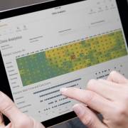 iPad-Dashboard: Clinic Analytics (by Tableau)